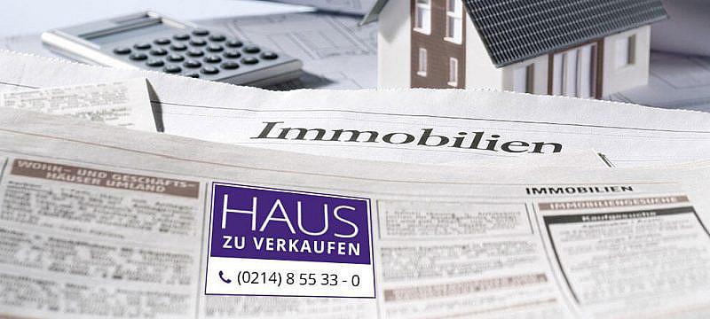 Printanzeigen Helmut Müller Immobilien