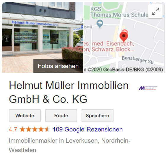 Google Bild Rezensionen