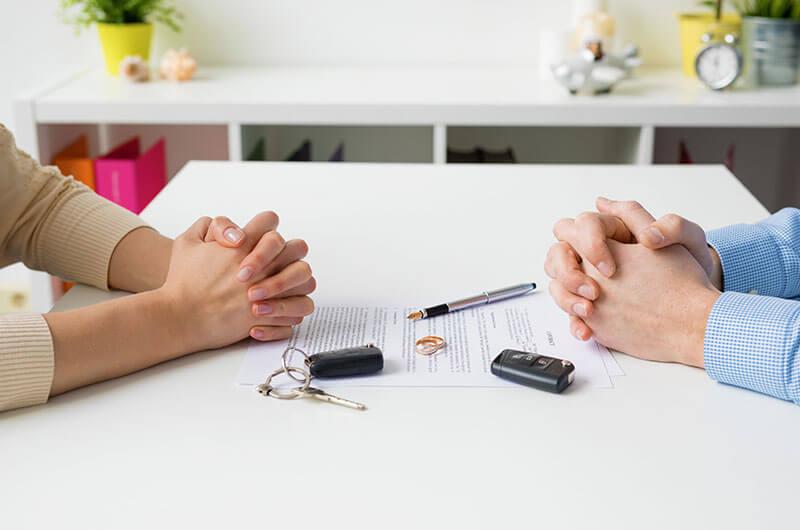 Scheidung Trennung