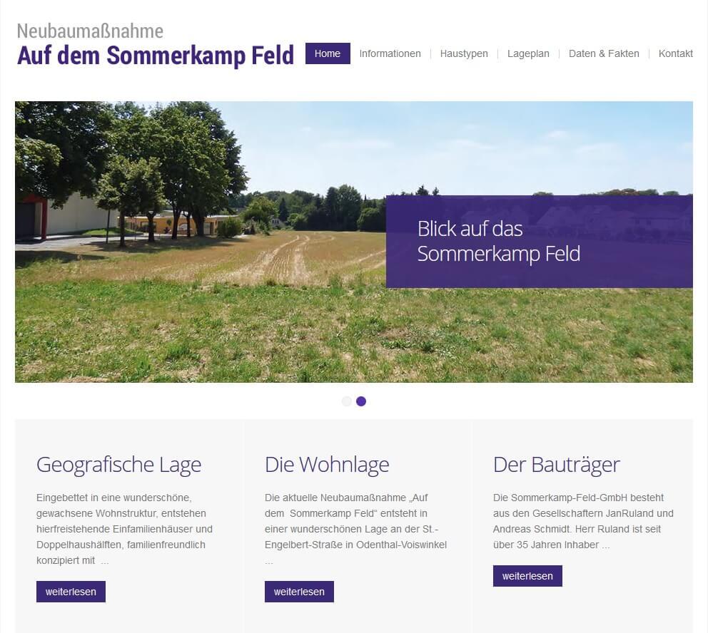 Vorschaubild Homepage