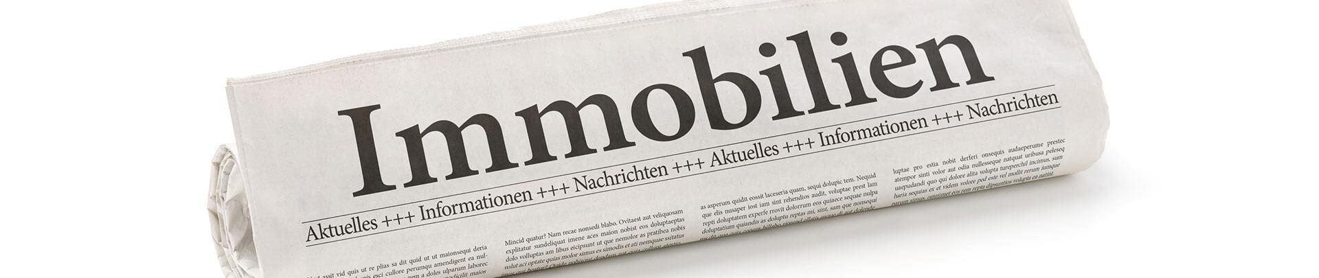 Zeitung Immobilien