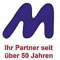 Logo M mit Slogan